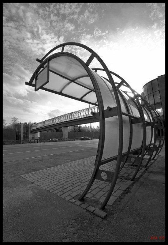 Bus stopphoto preview