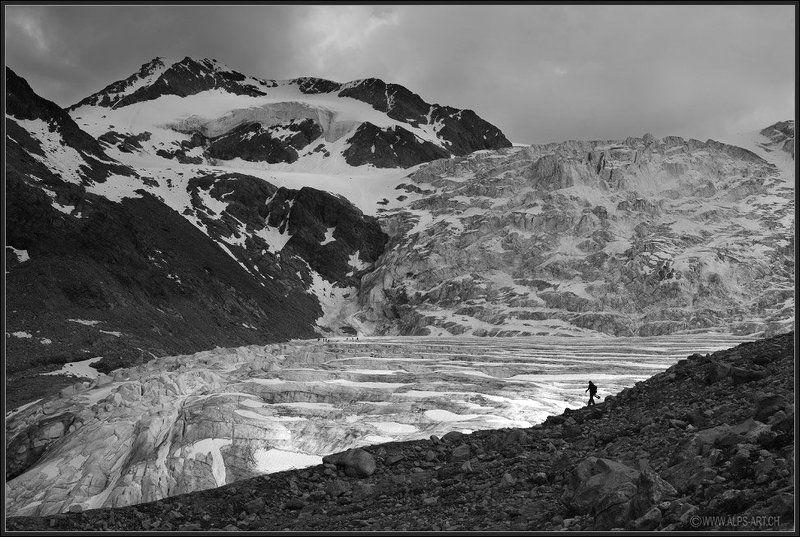 альпы Люди и горыphoto preview