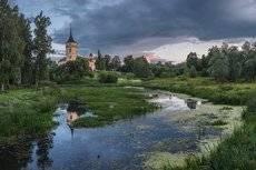 про лето Мариентальского замка...