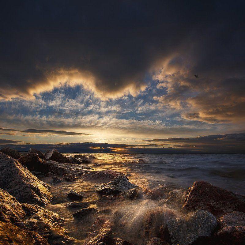 Непогодная закатная..photo preview
