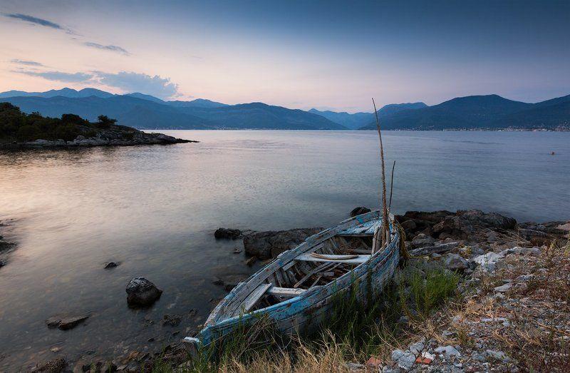 Бока-Которский залив, Закат, Море, Черногория Бока-Которский заливphoto preview