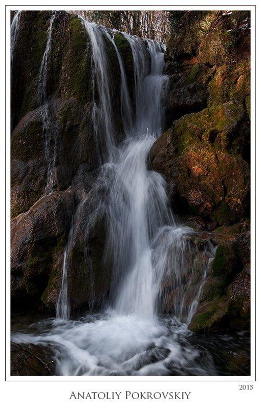 Весна, Вода, Водопад, Серебряные Струи Всё течёт. Всё изменяется. Всё возвращается.photo preview