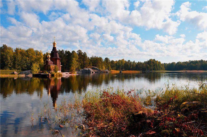Осень на Вуоксеphoto preview