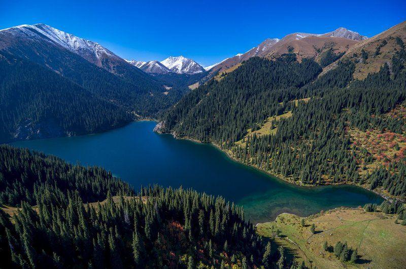 казахстан, горы, заилийский алатау, тянь-шань, кольсай, кольсайские озера, # Cентябрь на Kольсайских озерах #photo preview