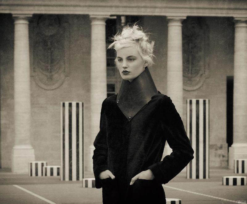 Париж, Портрет, Стрит монохромphoto preview