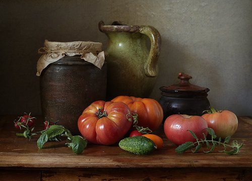 Сентябрь - время помидоров