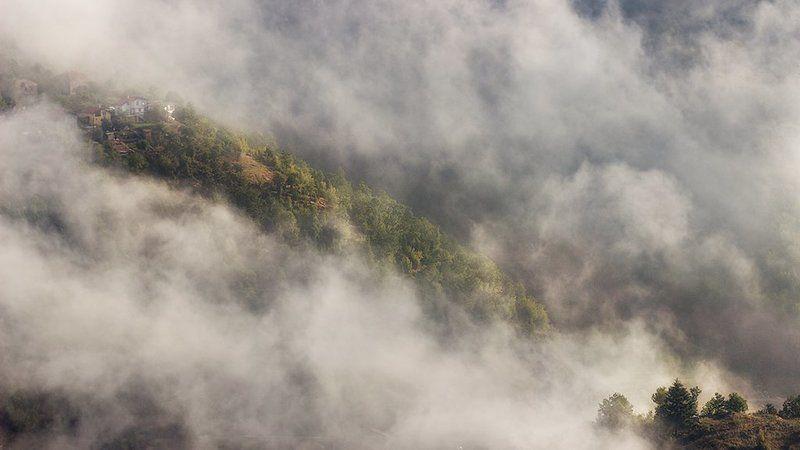 булгария, гора, облака, тумань photo preview