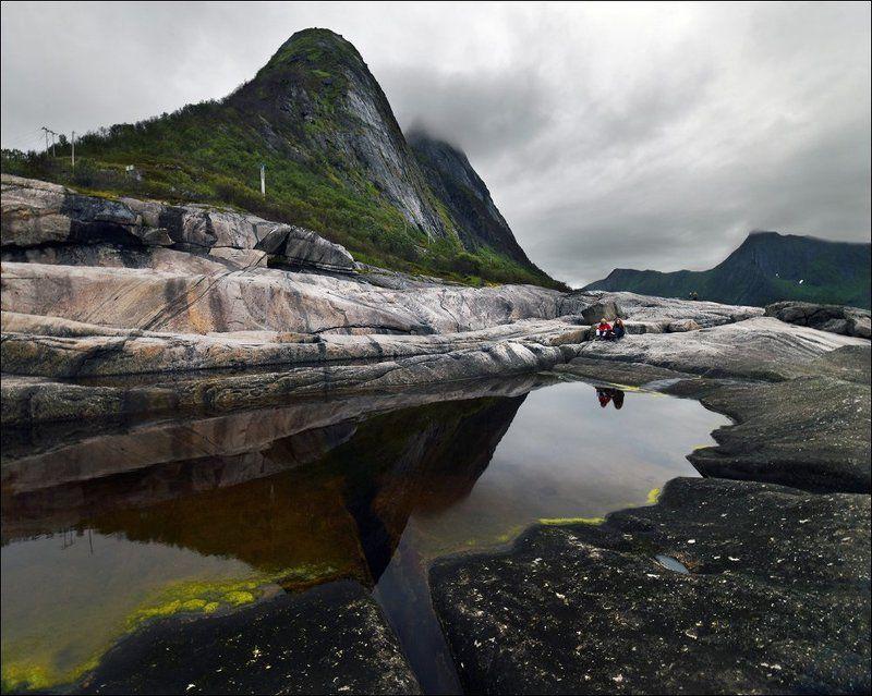 Горы, Норвегия, Сенья, Скалы, Тунгенесе Тунгенесеphoto preview
