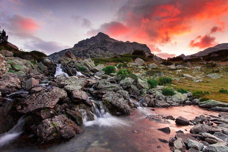 Закат в горах Пиринphoto preview