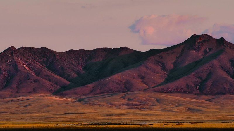 казахстан, сопки, степь ***photo preview