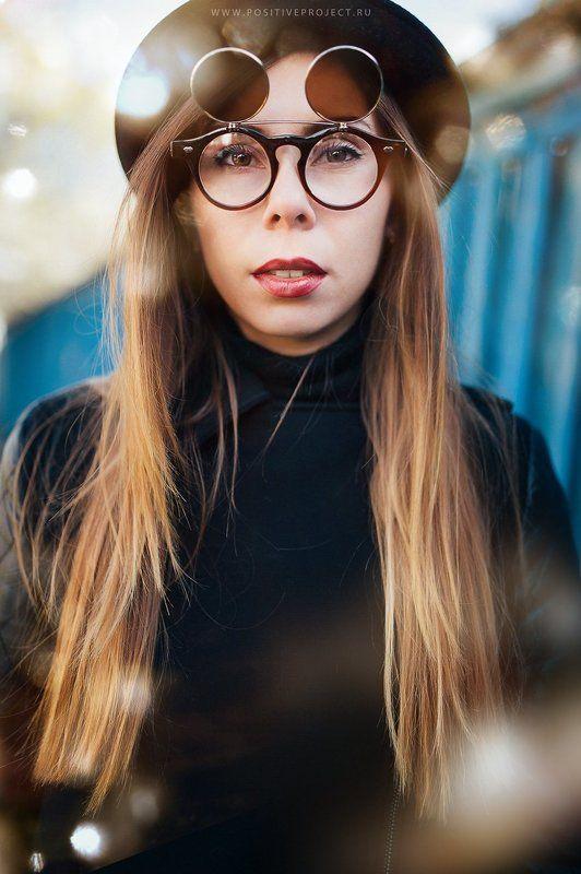 Арзамас, Девуша, Красота, Осень, Очки, Портрет, Фотографмариямальгинаволкова ***photo preview