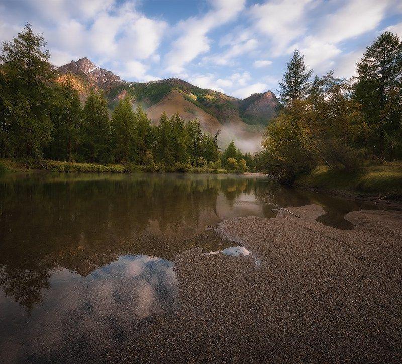 Утро на реке Сенца...photo preview