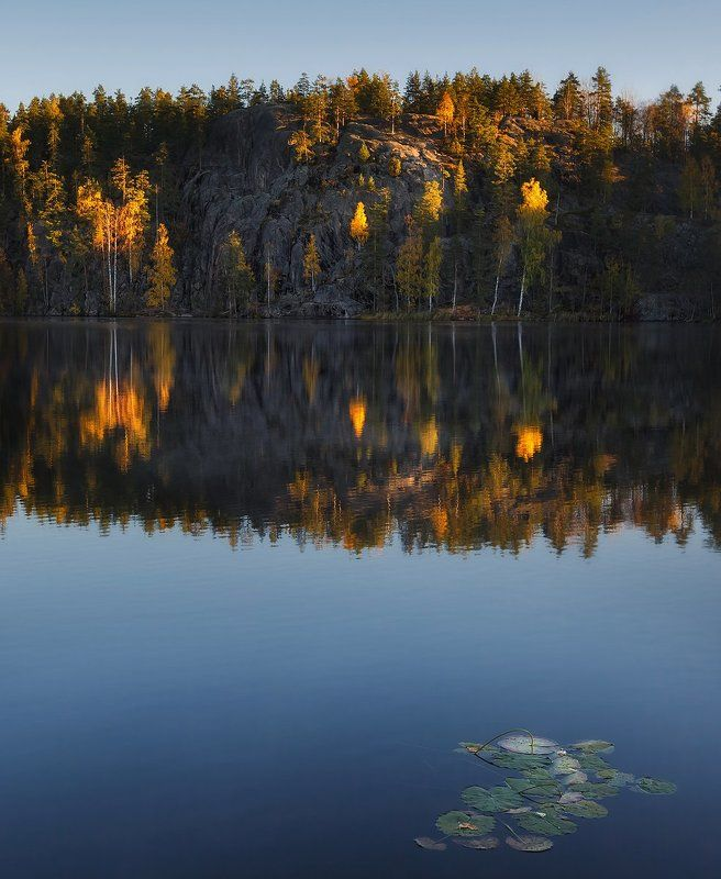 Про осень, озеро и звезды..photo preview