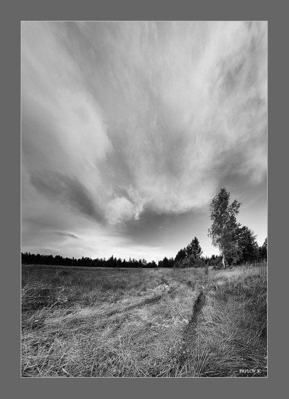 Ветер, север, дорога А ветер дул с севера...photo preview