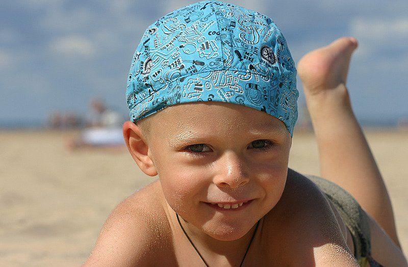 юрмала, пляж, песок, мальчик А вот моя большая песочница...photo preview