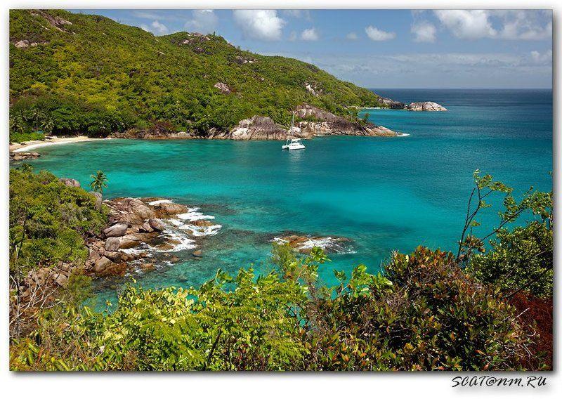 anse major, seychelles, mahe, острова, пляж, катамаран Anse Major **photo preview