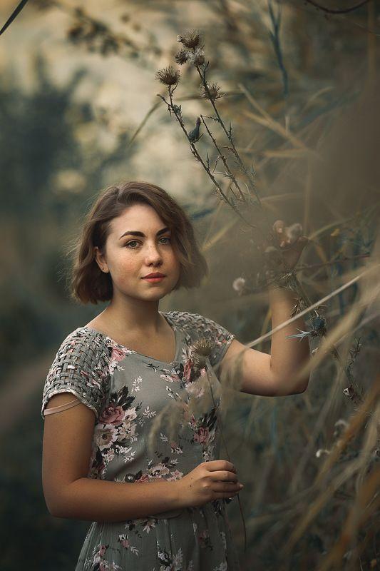 портрет, девушка Ираphoto preview