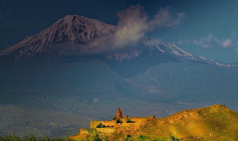 Арарат, монастырь Хор Вирап Раннее утроphoto preview