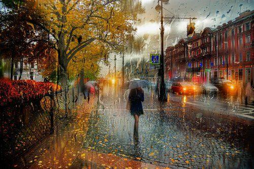 Санкт-Петербург. Октябрь..