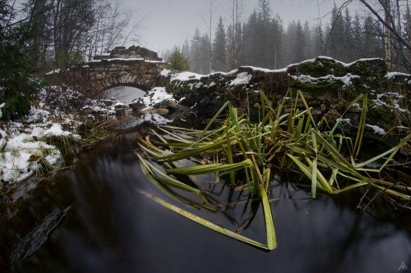 арка, мрамор, Рускеала Рускеальский спрутphoto preview