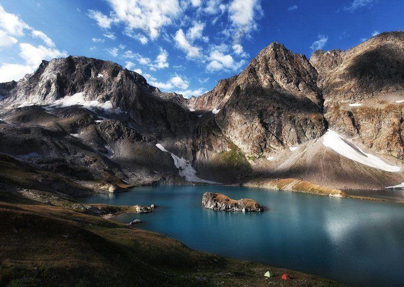 Безмолвия, Имеритинские, озеро, кавказ Озеро Безмолвияphoto preview