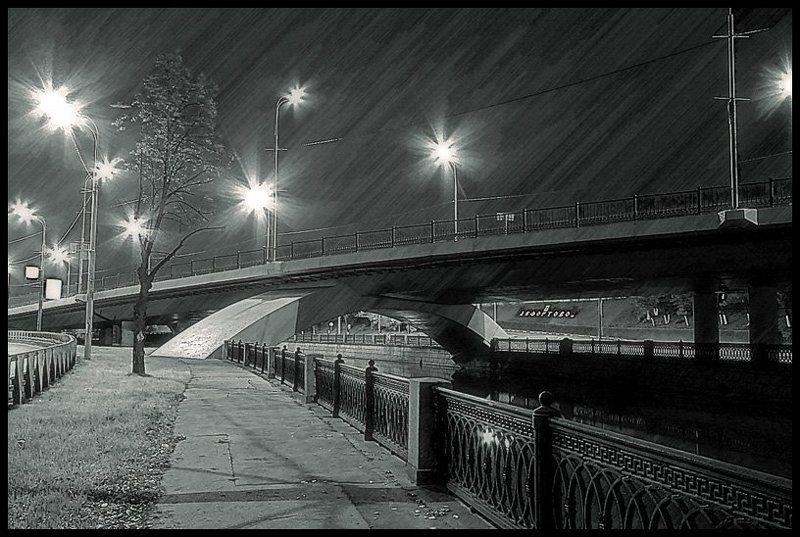 москва, набережная, яуза Вечер на набережной р. Яузаphoto preview