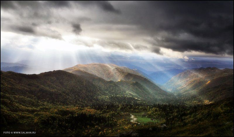 кавказ, фишт, приют, горы, восход, Восход в горахphoto preview