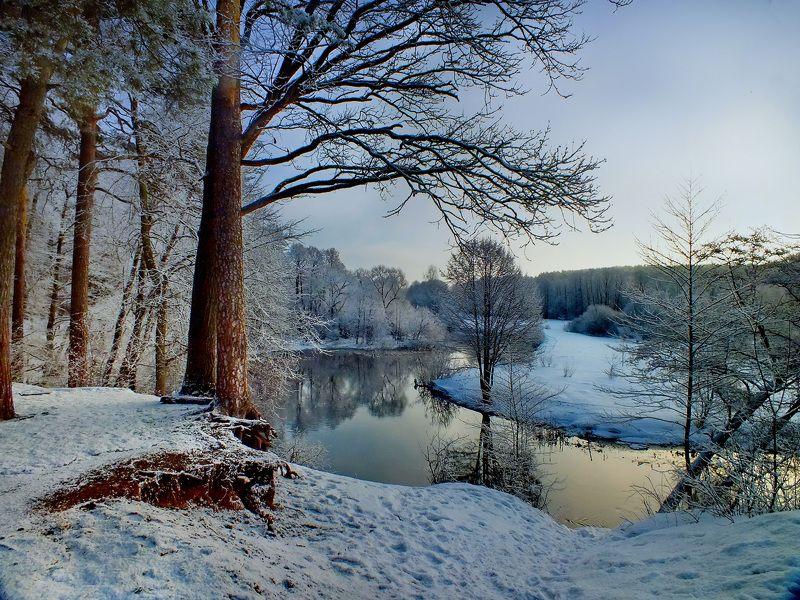 Свтслочь, зима In winterphoto preview