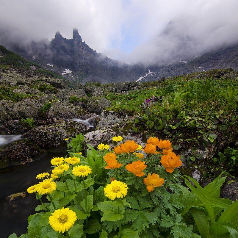 ергаки, оз. горных духов за облакамиphoto preview