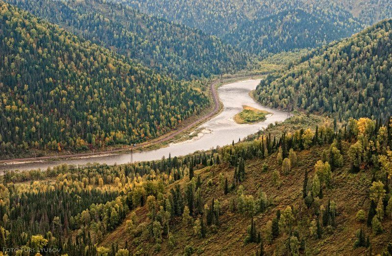 томь алатау кузбасс горы осень  Диагоналиphoto preview