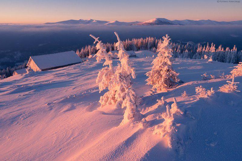 Горы, Зима, Карпаты ***photo preview