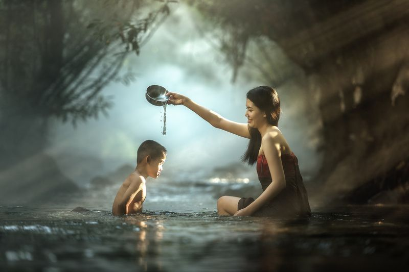 outdoor; human; cold; thailand; xxx; natural; ethnicity; north; rocks; life; culture; happiness; south; peasant; head; nude; east; bathing; people; pam; poor; pang; village; female; asia; cute; smile; thai; world; forest; cool; local; face; woman; laos; r Sister and brother bathingphoto preview