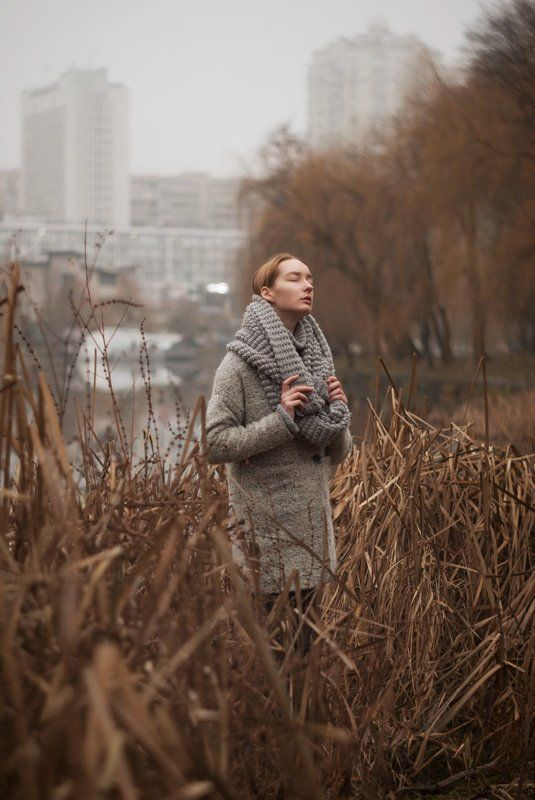 портрет, девушка, зима, озеро, portrait, girl, blonde, winter, lake, natural, beauty Зимнее теплоphoto preview
