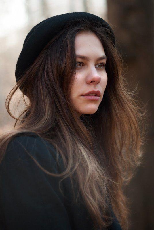 девушка, портрет, шляпа, свет, girl, portrait, light, beauty, hat Катеринаphoto preview