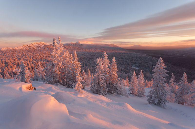 урал, зима, златоуст, таганай, рассвет, горы, t_berg Увидел рассвет - снимай от рассвета!photo preview