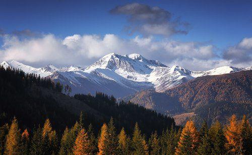 Осенние вершины