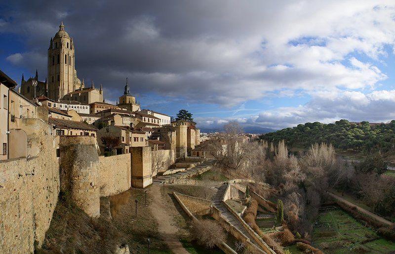 Сеговия, Испания, январь 2016  Segoviaphoto preview
