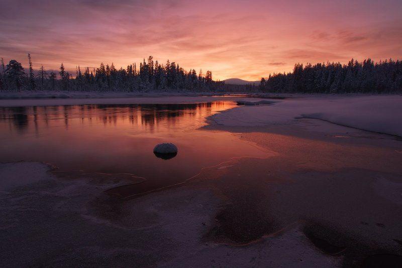 Кольский, Кольский полуостров *Зима на Колвице*photo preview
