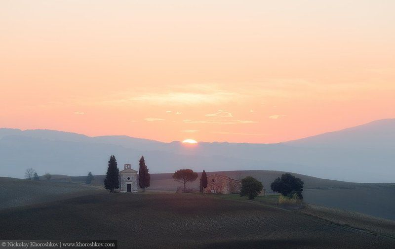 Italy, Tuscany, Италия, Пейзаж, Тоскана На склонах тосканских холмов...photo preview