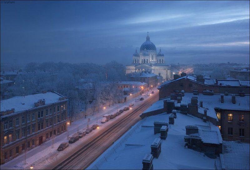 Утро у Троицкогоphoto preview