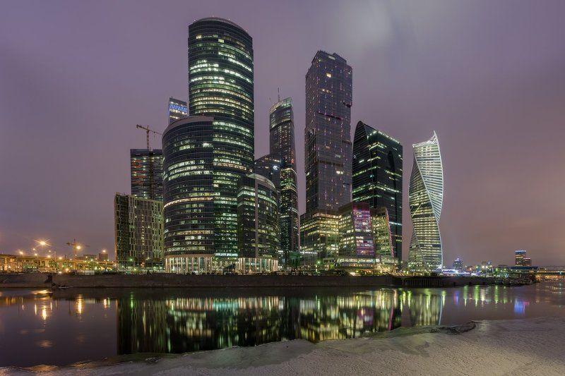 москва, россия, столица, сити, река, рассвет, утро про утро в Москвеphoto preview