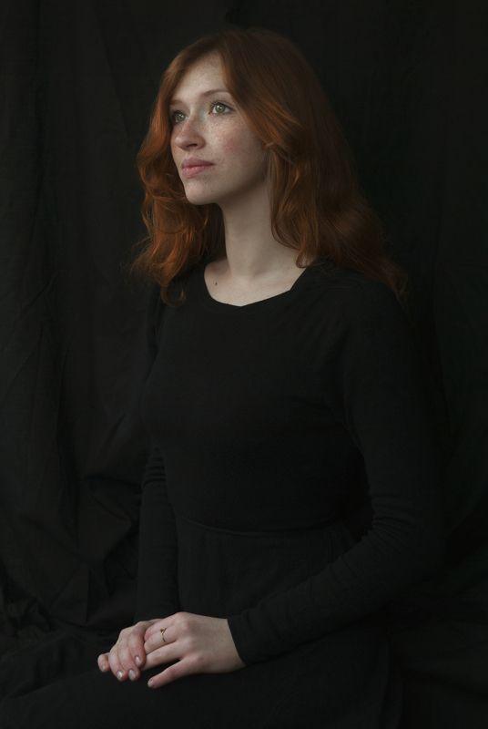 портрет, девушка, рыжая, portrait, girl, ginger, redhair Мариphoto preview