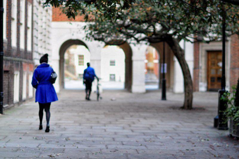 синие, люди Blue Mondayphoto preview