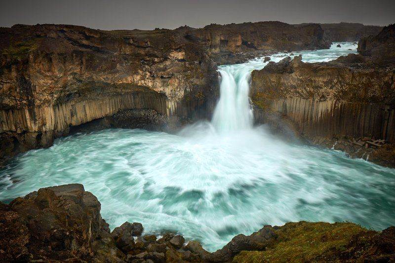 Aldeyjarfoss, waterfall, Iceland Powerphoto preview