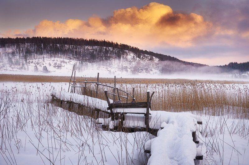 Ладожское озеро, Карелия, зима Ладожское озеро.photo preview