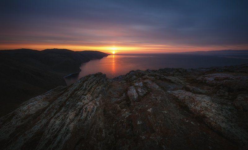 Байкальский рассвет...photo preview