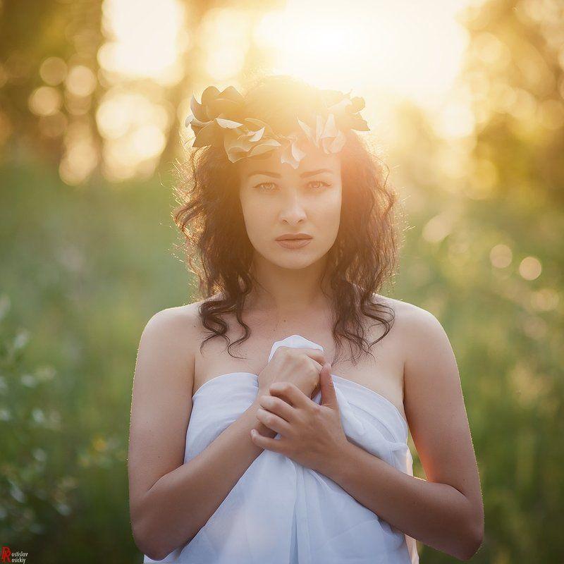 девушка, портрет, лето, солнце, пленэр, ростислав росицкий Sweet witchphoto preview