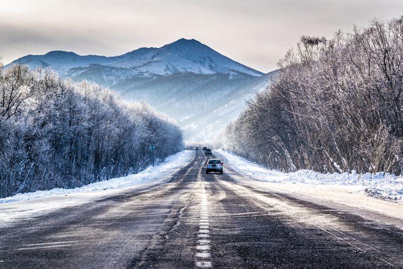 Зимняя дорогаphoto preview