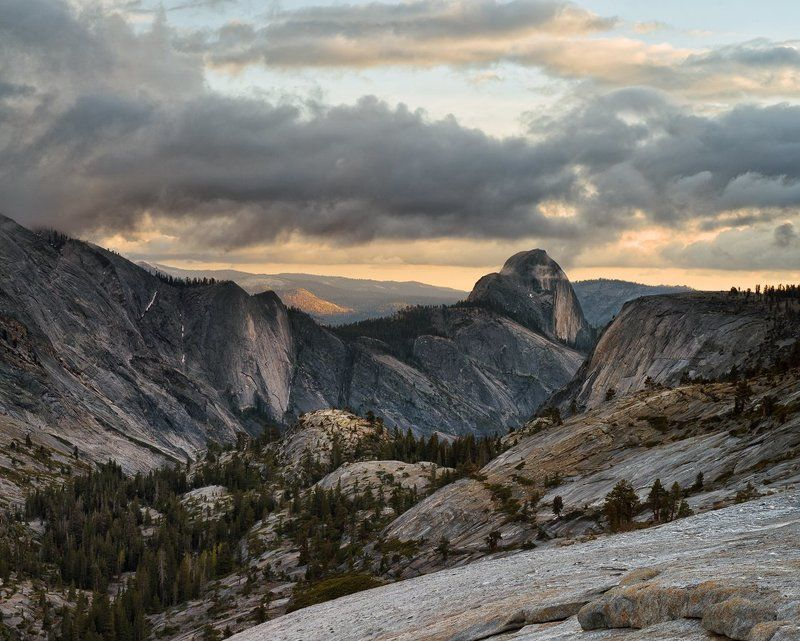Half Dome со стороны Olmsted Pointphoto preview