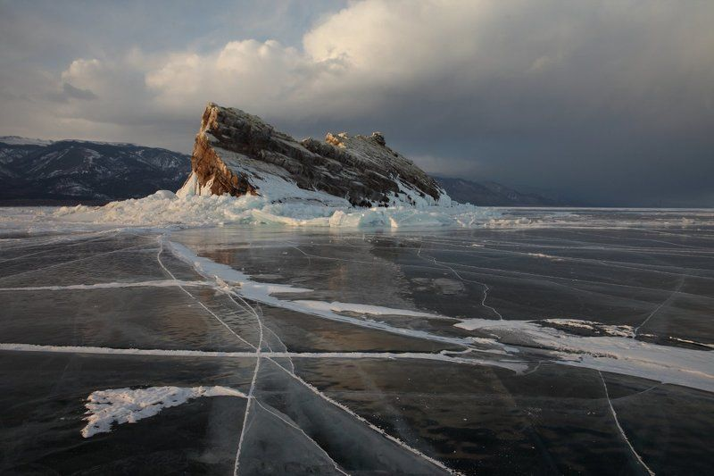Байкал о.Еленка, Лед, Малое море, Март 2015 О.Еленкаphoto preview